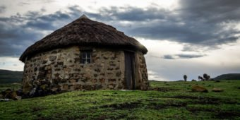 old stone house in africa