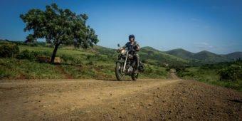 motorbike trip africa
