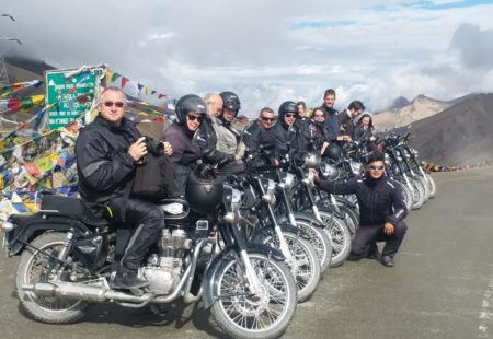"<h3>We understand you're a rider and came with us on one of our <a href=""https://www.vintagerides.travel/motorcycle-tour/india-himalaya/"">motorcycle tours in Ladakh</a>, could you tell us more about it?</h3> I've always enjoyed biking as my dad used to take me when I was younger. Nowadays, he rides a Royal Enfield Continental GT and I ride a 1976 Honda CB 400F. I sometimes take it out for road trips across France and the last trip I did was in Ireland. Last August, I discovered both India and Royal Enfields for the first time."