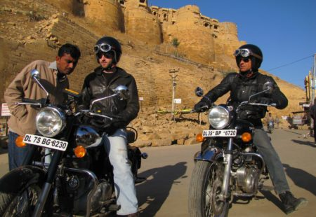 "<h2>A lesson of discovery in India</h2> When he arrived in India at just 19 years of age, Alex didn't know what to expect. On a spontaneous <a href=""https://www.vintagerides.travel/motorcycle-tour-india/"">motorcycle trip India</a> to the mountains, as a passenger on a mate's bike, he had a revelation. ""That day, I said to myself, ""I'll learn to ride and travel India by bike, because it's simply out of this world""."" His <a href=""https://www.vintagerides.travel/"">Royal Enfield trip</a> went from south to north, on the Indian bike par excellence. He went back to France in 2007, and one thing was certain: the future had to involve two wheels. Vintage Rides, a motorcycle travel agency, was born."