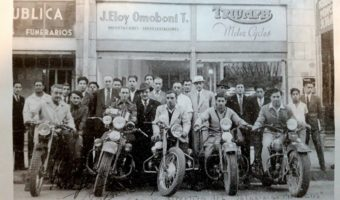 1946 : A South America tour on Harley Davidsons