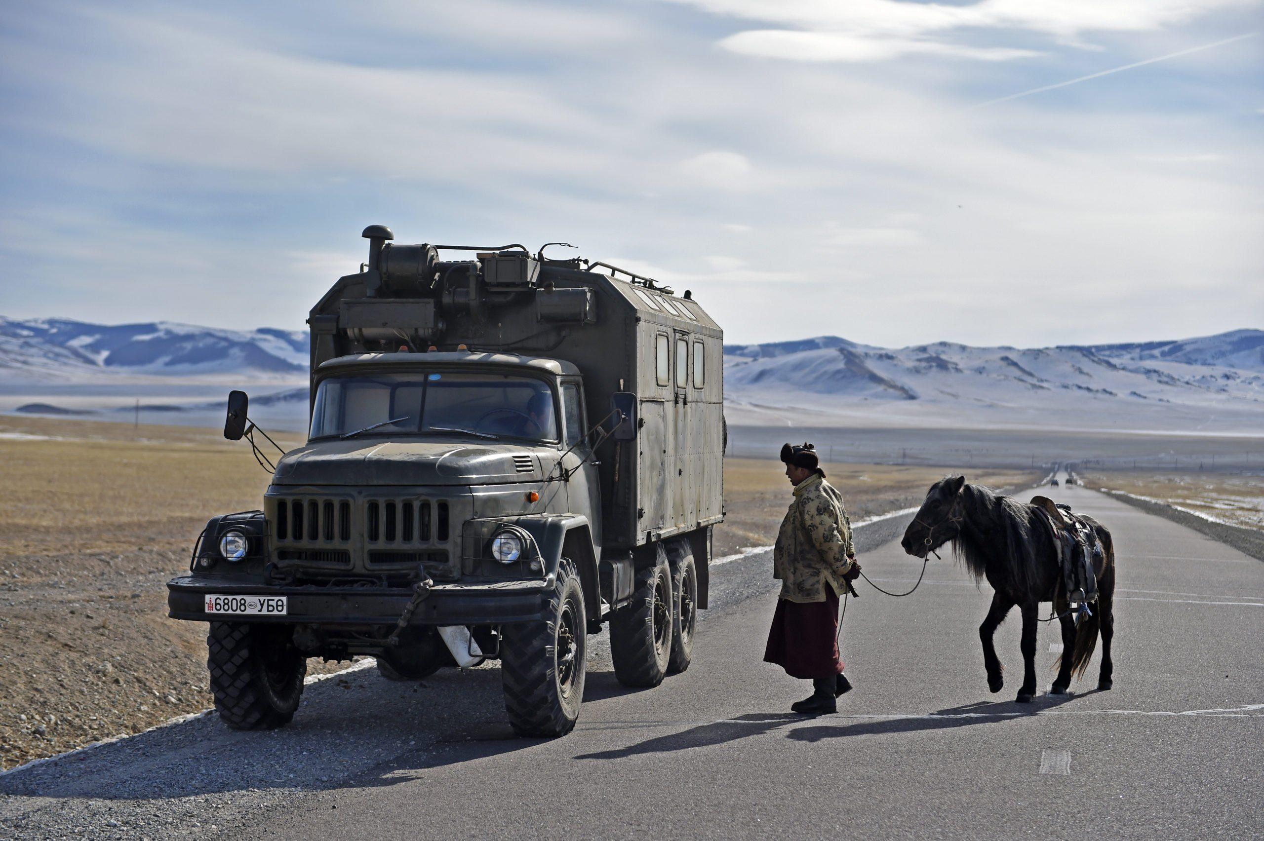 road trip mongolia