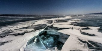 ice lake khövsgöl mongolia