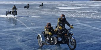 Motorcycle tour - Frozen Ride