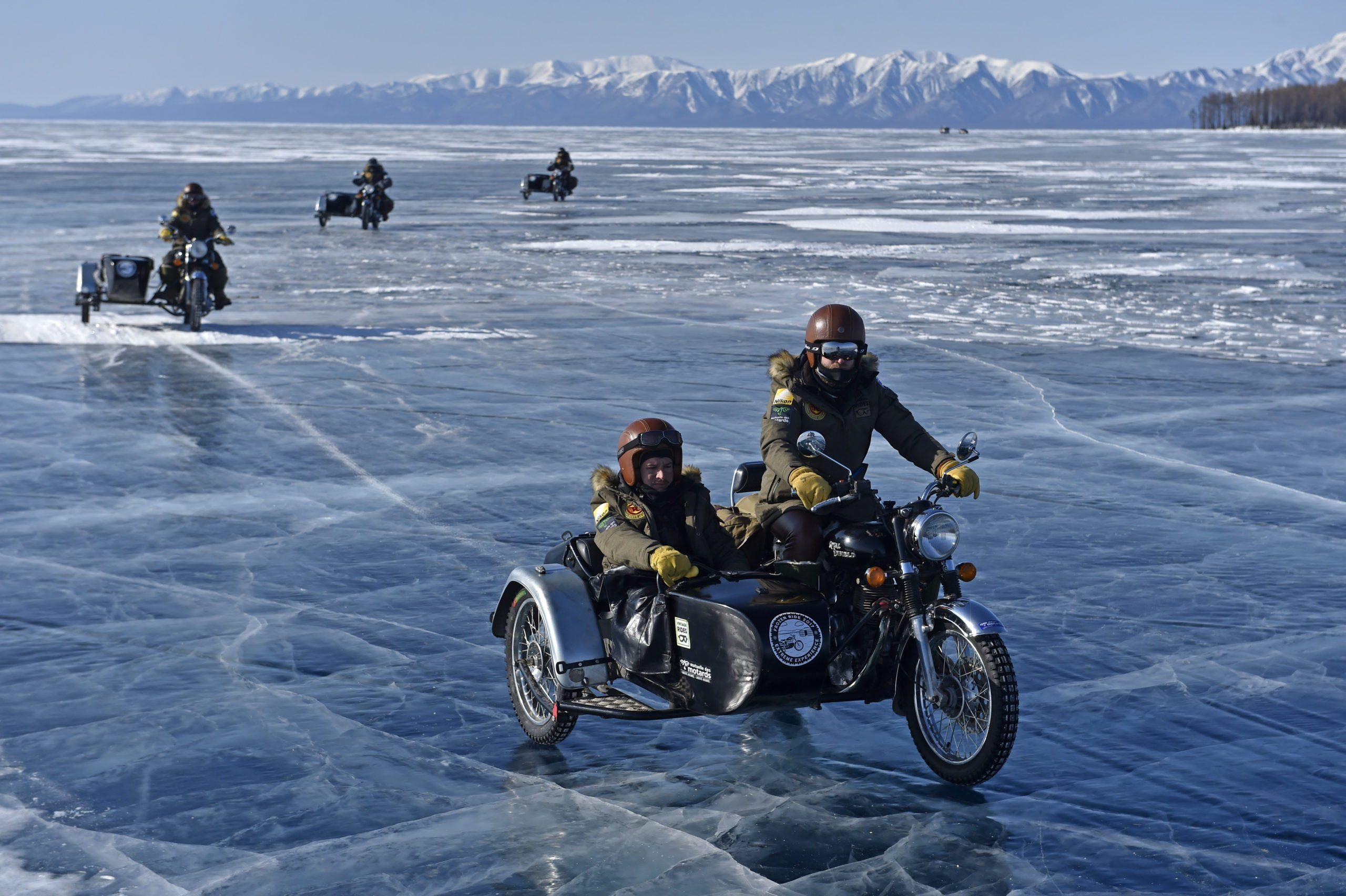 Motorcycle road trip Mongolia - Frozen Ride