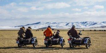 royal enfield sidecars mongolia