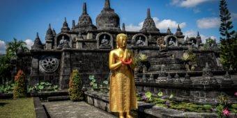 buddhist temple bali