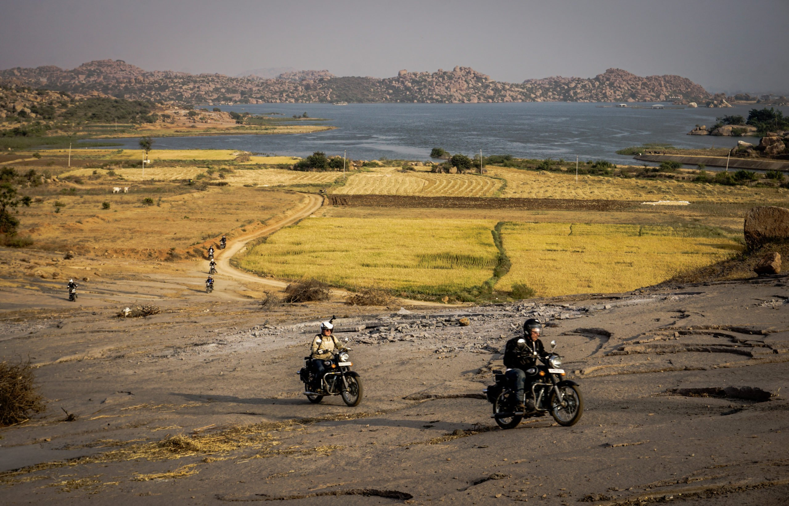 Motorcycle road trip India / Southern India - Goa, Jungle & Antique Wonders