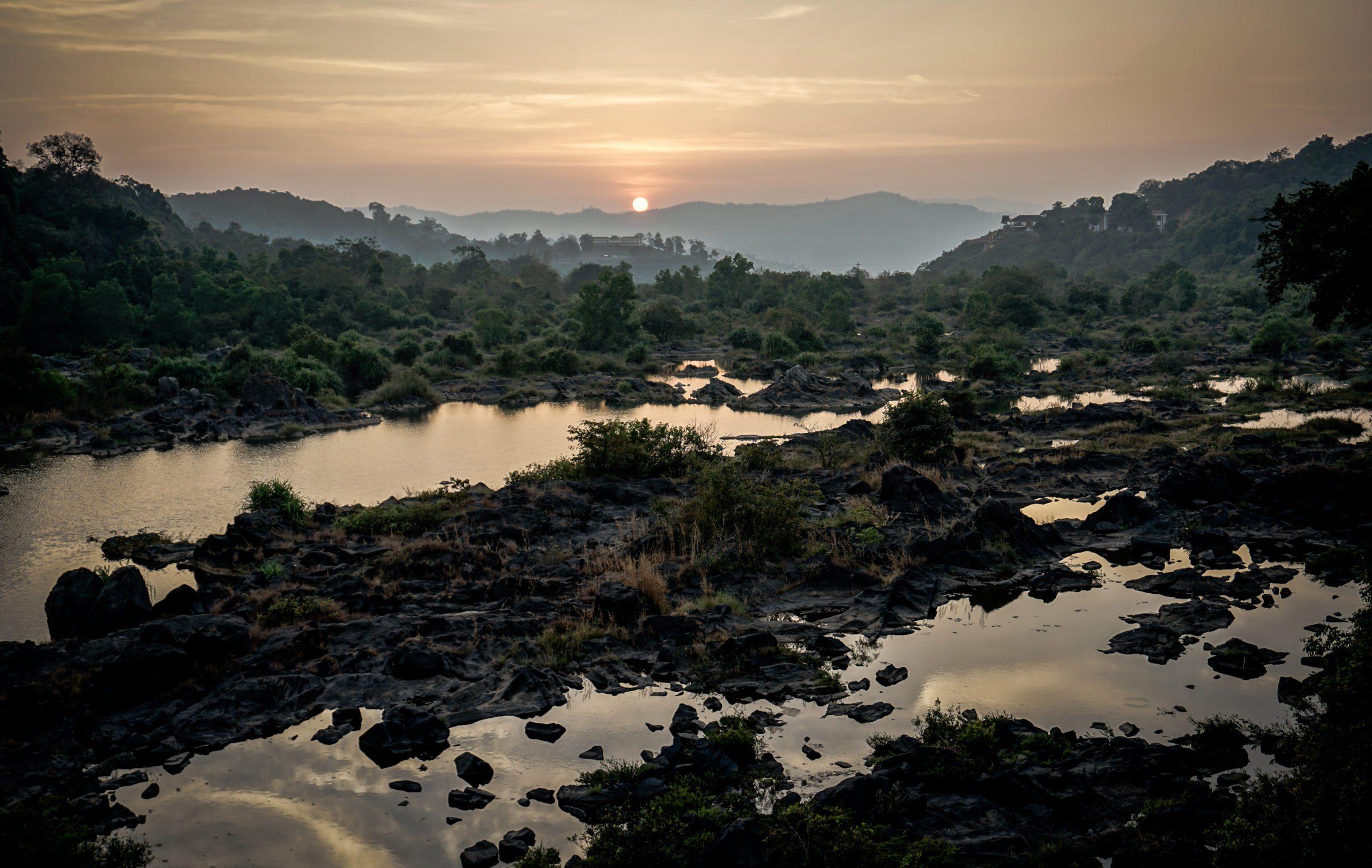 sunset south india