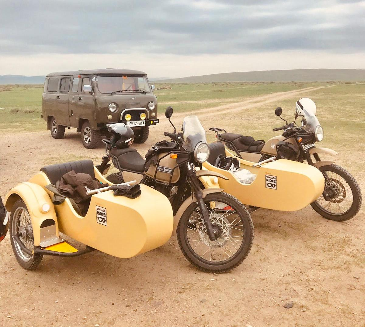 Motorcycle road trip Mongolia - East Side Story