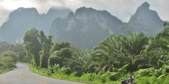 motorcycle road thailand