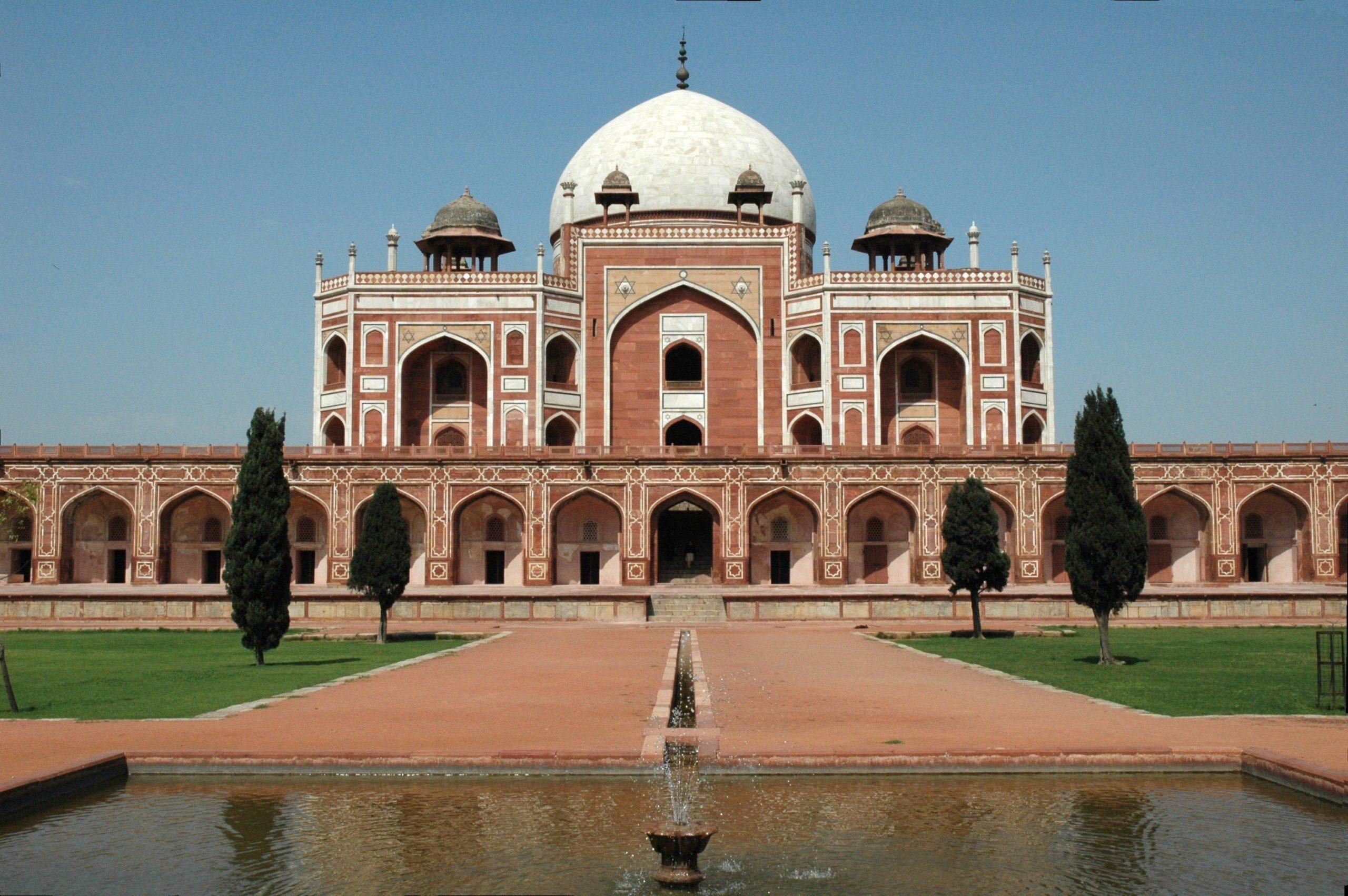 humayan tomb delhi india