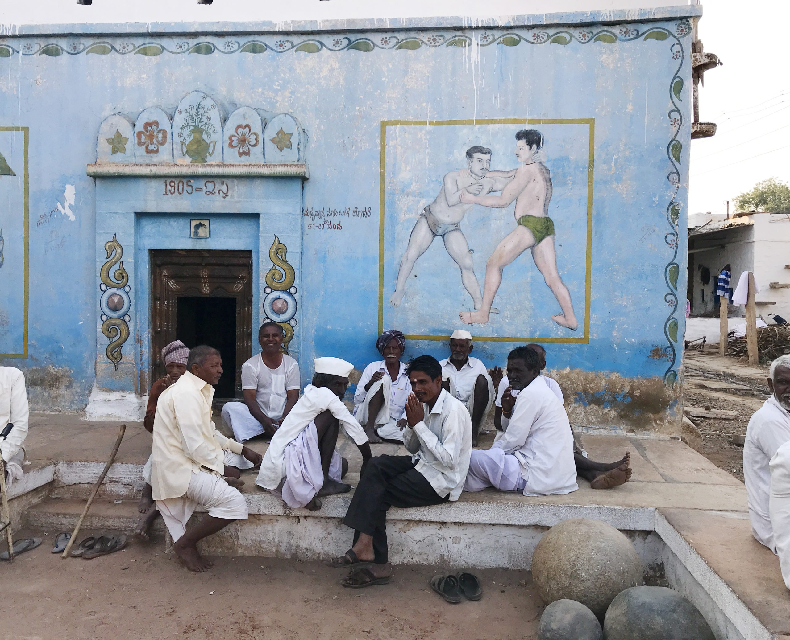 wrestling south india