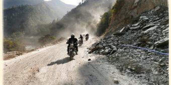 motorcycle adventure himalaya india