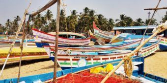 colourful boats guruvayur