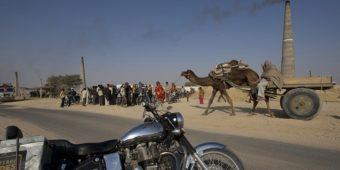 desert rajasthan motorcycle india
