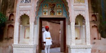 rajasthani guard north india