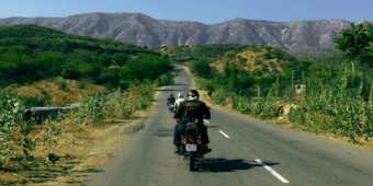 motorcycle adventure north india