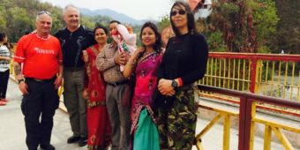 meeting locals himalaya india