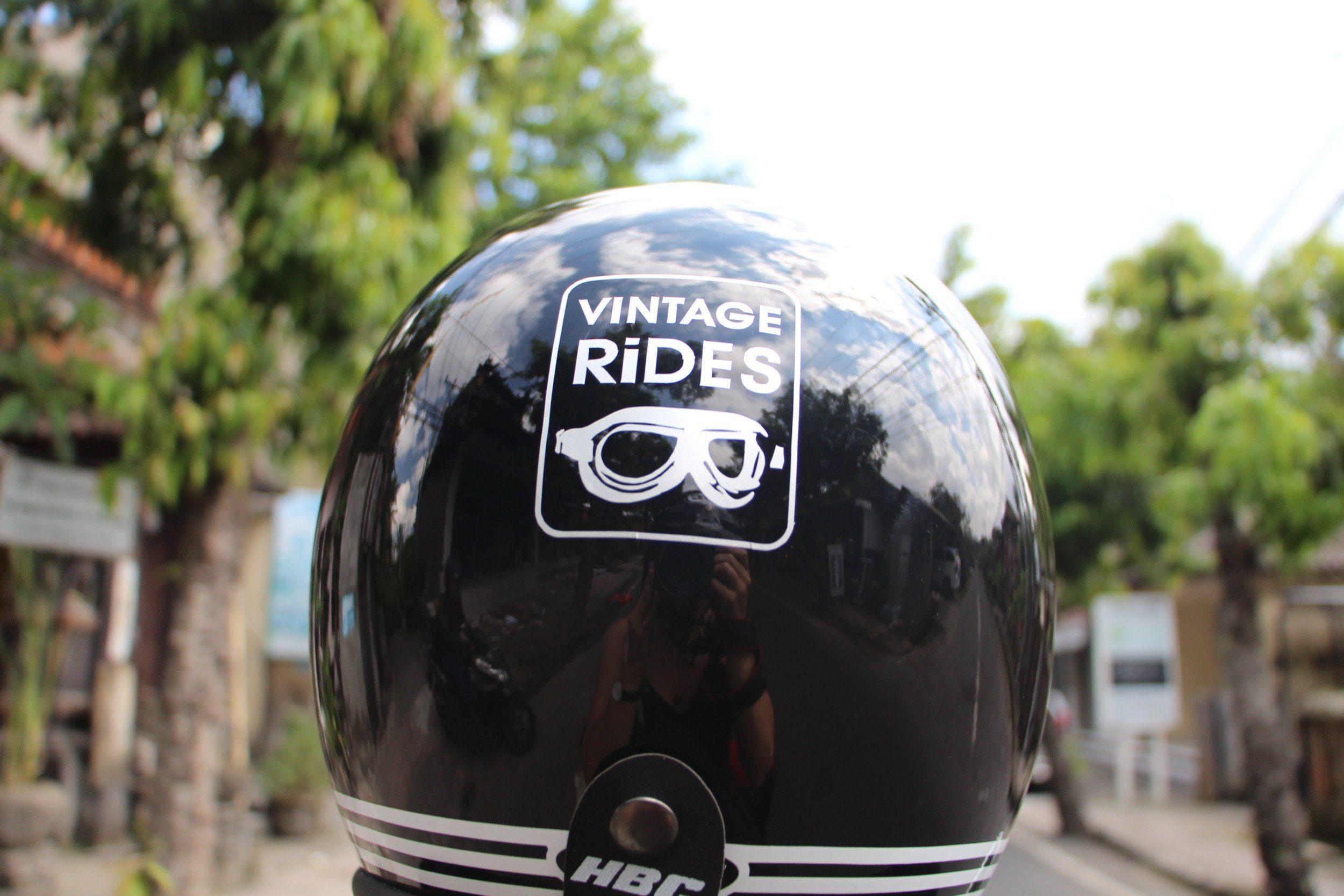 logo vintage rides