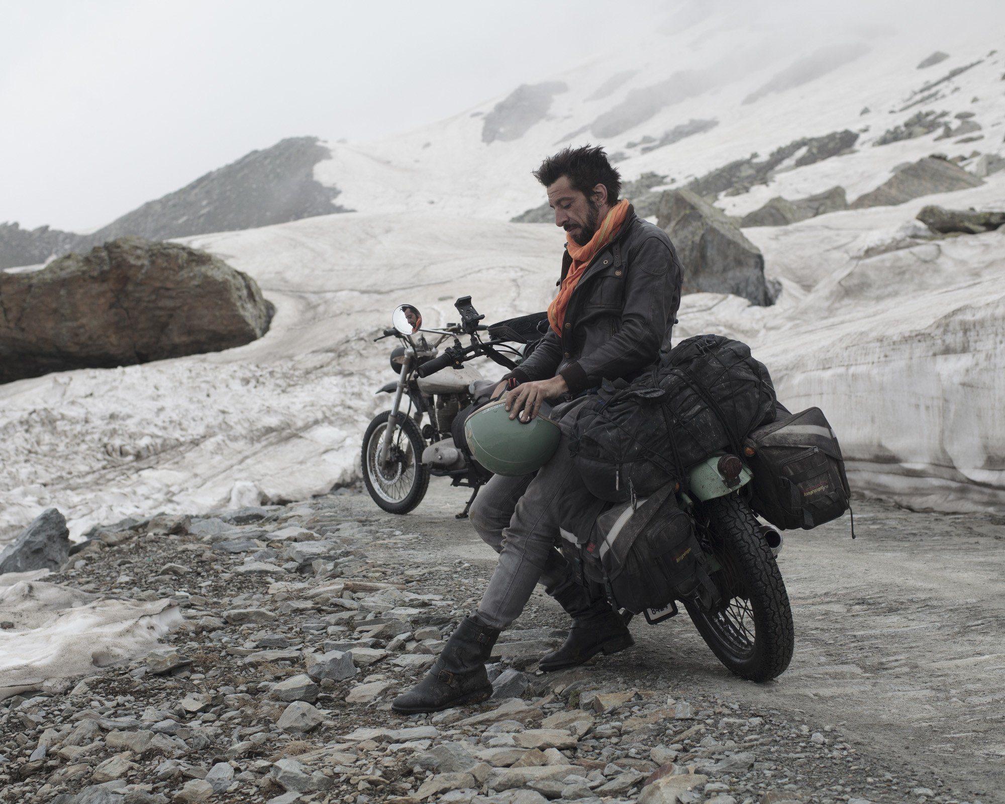 johann by motorcycle