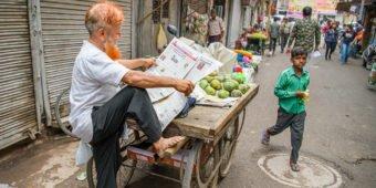 street market india