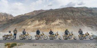 royal enfield tours himalayas india