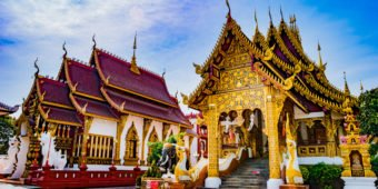 buddhist temple thailand
