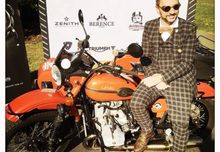 "In 2015, Laurent took part in his first Gentleman's Ride in Geneva, an event that brought together almost 300 people to raise funds for prostate cancer. As the top donor in 2017, the Gentlemen GVA approached Laurent and asked him to become an active member of this team of philanthropist riders, vintage amateurs and retro bikers. Two years ago, he went down to the  <a href=""https://www.wheels-and-waves.com/en/"">Wheels and Waves</a> festival in Biarritz with his Land Rover Defender, his Triumph and some other beauties on a trailer and even rode across the Bardenas desert in Spain. This summer, he is setting off on a road trip in Scotland before taking part in the Distinguished Gentleman's Ride at the end of September. This aficionado of bikes and vast spaces wants to take a closer look at life: ""There are still so many things to explore and draw around you or on the other end of the earth!"" He never ceases to dream of faraway lands. Until he jets off again, he has a weekend reunion on the books with the other Frozen Riders at the end of the summer around Satigny's vineyards."