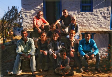 """Johann had told us about other <a href=""""https://www.vintagerides.travel/motorcycle-tours-asia"""">motorcycle tours Asia</a>, and amongst them a new circuit in the Himalayan foothills of Uttarkhand. The itinerary crosses two very distinct regions, Kumaon and Garhwal. The Himalayan landscapes are absolutely grandiose. We enjoyed the motorcycles, perfect mounts for these beautiful mountain roads. There was a bit of everything, it was very diverse without any difficult portions. The diversity was also found in the landscapes, in the cultures and in the architecture. There was the right mix of riding, discovery and encounters: an alternation between immersion in nature and cultural experiences. We visited a traditional handicraft factory, we discovered Rishikesh and its hippie culture, the Beatles ashram, a whole piece of history! And then the Ganges, the great sacred river. After several days in the middle of the mountains, we arrived in Haridwar, in the heart of tumultuous India and Hinduism in all its splendour. You watch, you enjoy it, you soak it up, you get rich. We loved the closeness to the people. The contact with the locals is allowed thanks to the motorcycle and the itinerary that takes us where others don't go."""