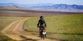 himalayan bike in mongolia