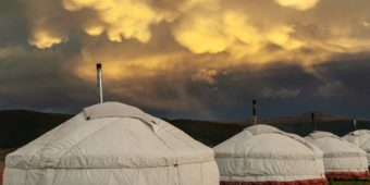 traditional yurts mongolia