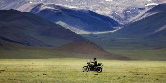 mountain landscape mongolia