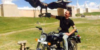eagle motorbike mongolia