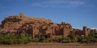 ruine temple in morocco