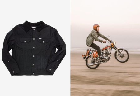 "<h2>Iron and Resin</h2> The legendary American brand <a href=""https://ironandresin.com/"">Iron and Resin</a> offers a ladies' collection that is strongly influenced by Californian culture. With a loose, casual and relaxed style, their jackets and thick cotton boiler suits are heavy-duty and practical. Expect classic items, perfect for everyday wear or on a <a href=""https://vintagerides.travel/"">motorcycle tour</a>."