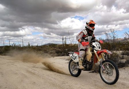<h2>La Baja 1000</h2>  Held in Mexico, Baja 1000 is an off-road race that takes place in autumn on the Baja California Peninsula. The race does not consist of many stages: the objective is to complete the run as fast as possible. The finish line is more than 800 miles away from the start, adding to the event's danger factor. However, it's not the only thing that puts participants' physical integrity at risk. This event is as unique as it is risky due to the fact that all categories race at the same time (lorries, cars and motorcycles), the roads remain open to the public and spectators amuse themselves by setting booby traps.