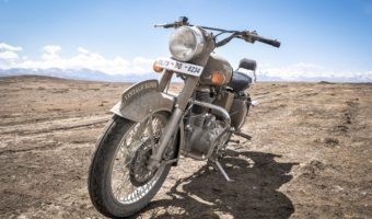 What makes the Royal Enfield the perfect motorcycle for a two-wheeled road trip?