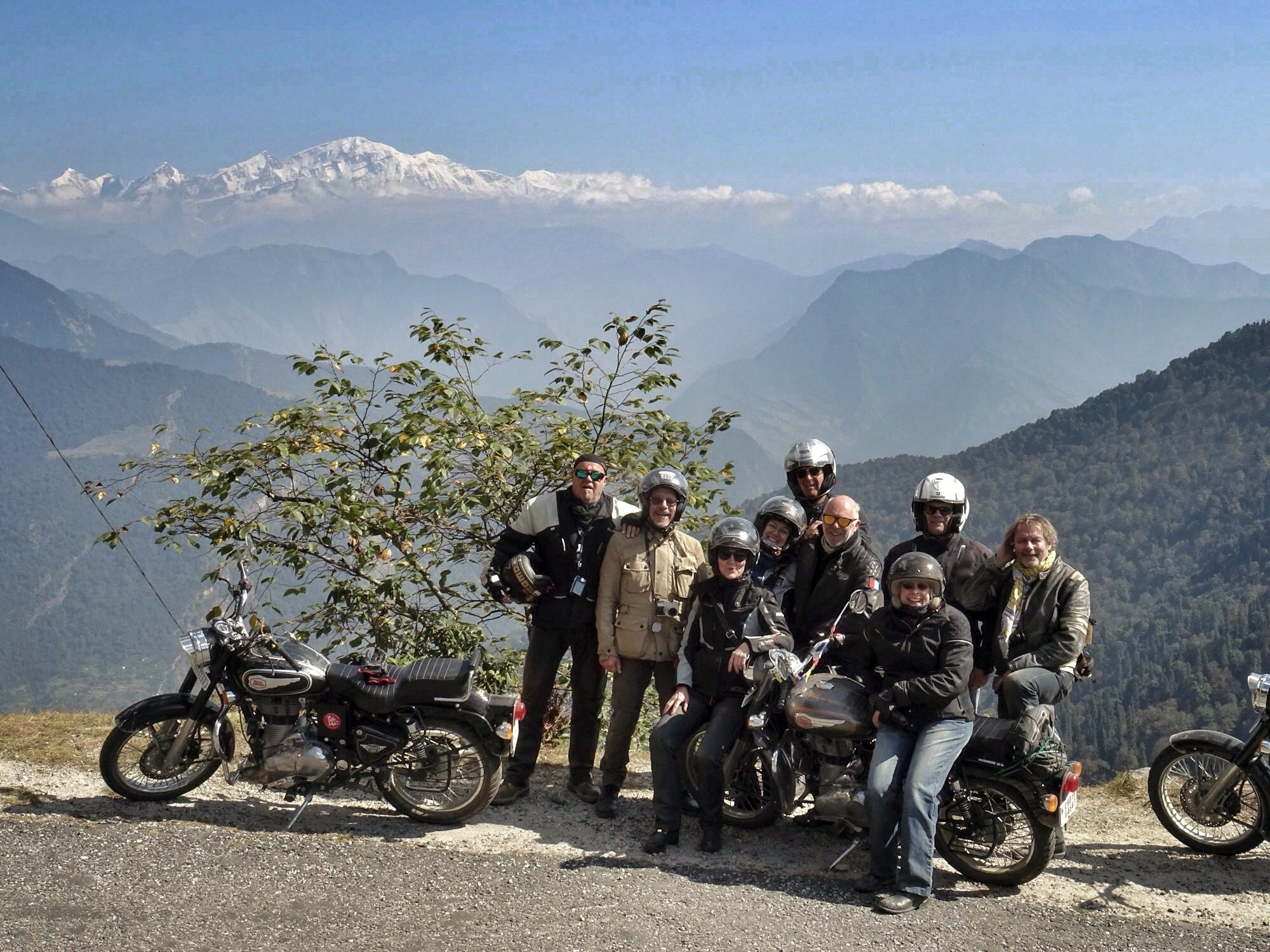 Motorcycle road trip India / Himalaya - Luxury Tour in Uttarakhand