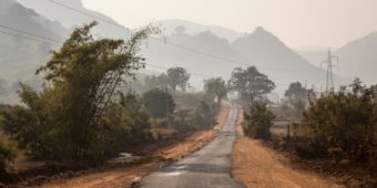 road lanscape odisha
