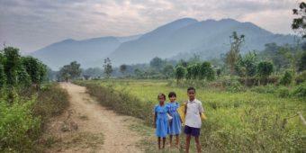 children countryside odisha