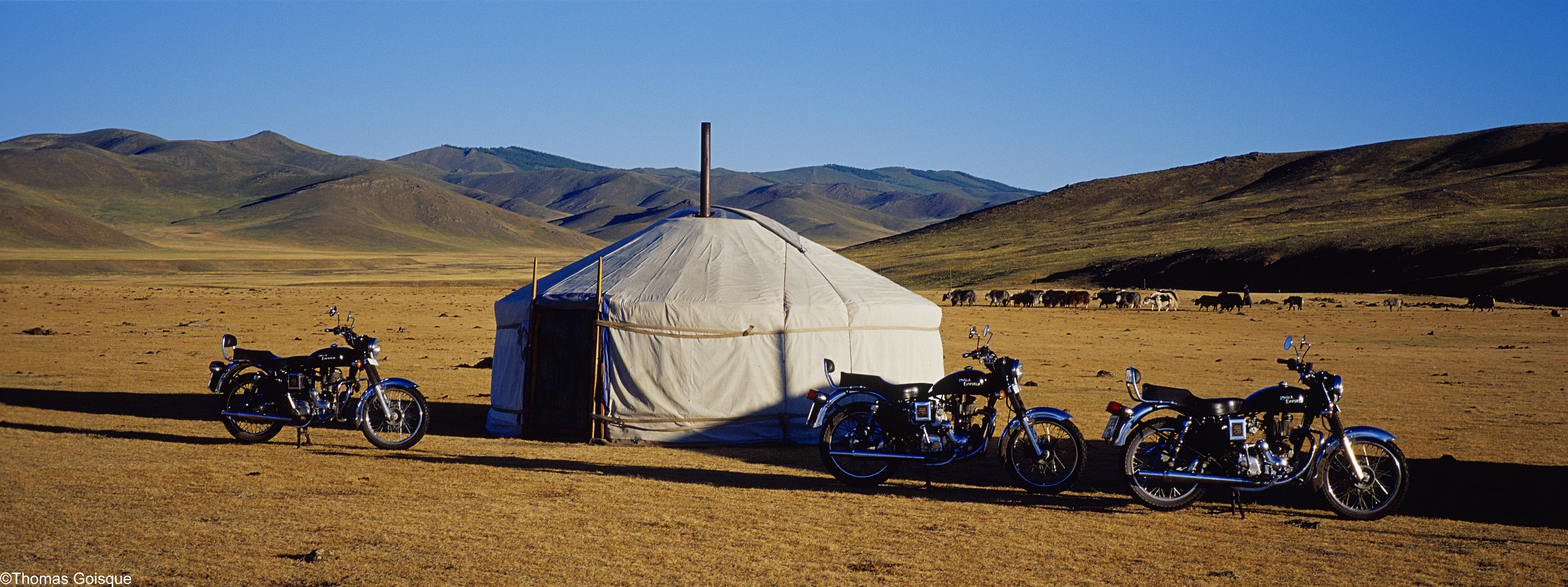 Motorcycle tour Mongolia
