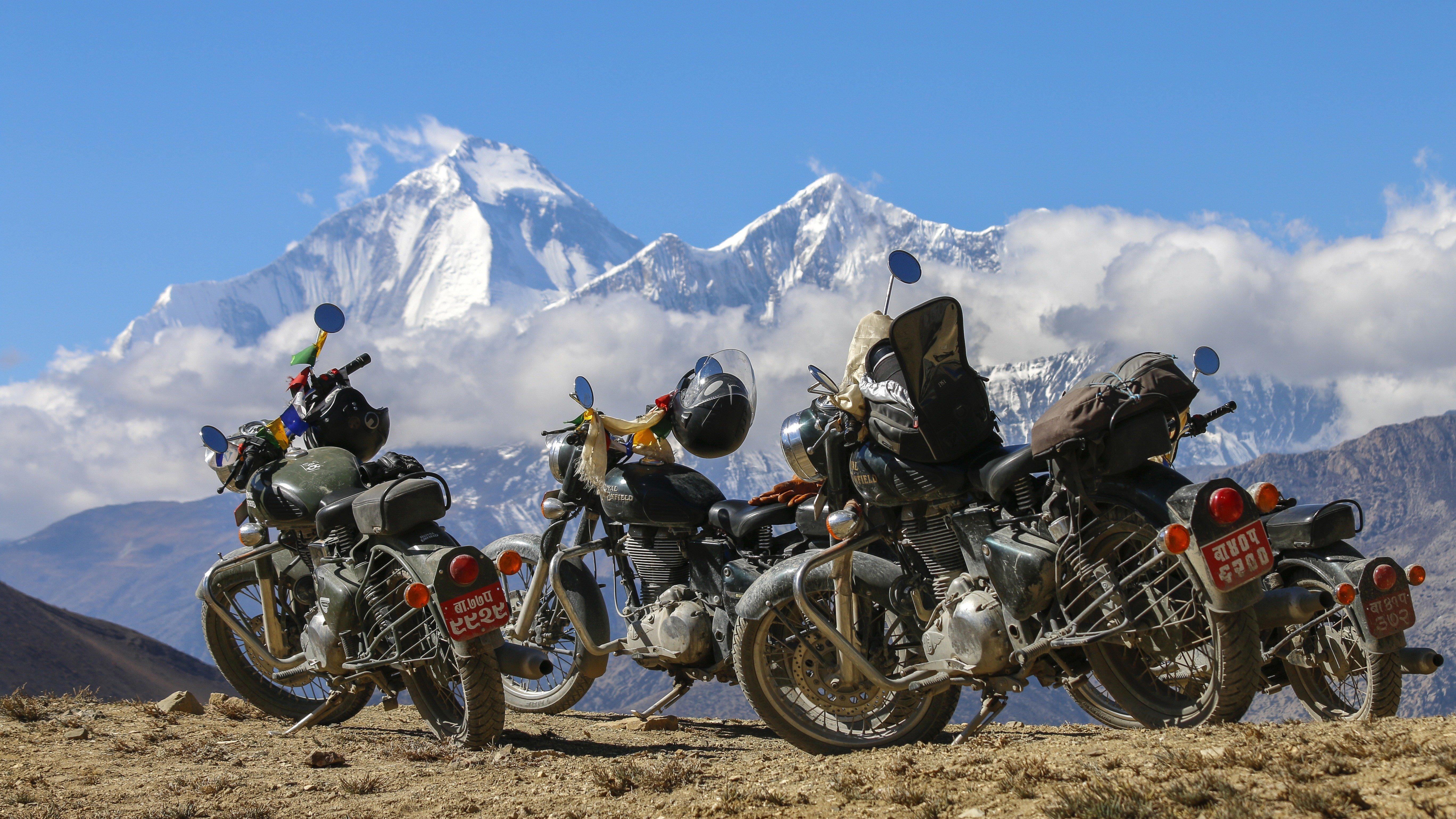Motorcycle tour Nepal