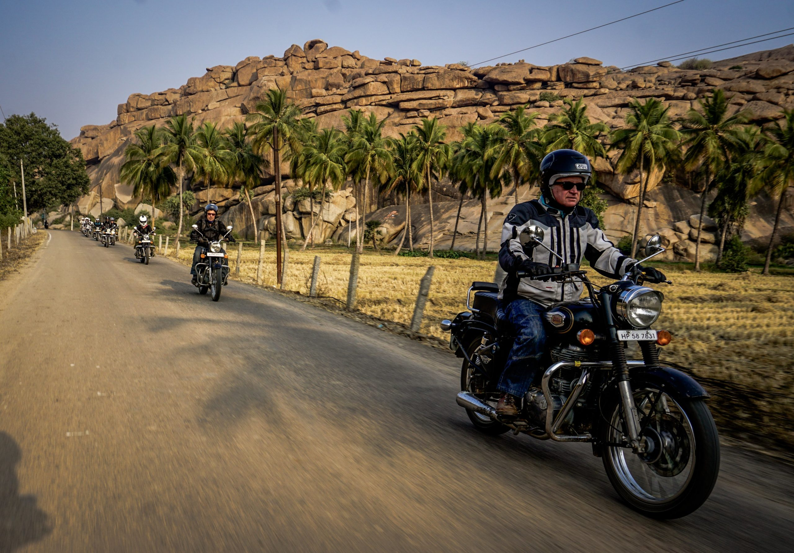 Motorcycle tour India  Southern India