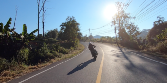 motorbike trip thailand