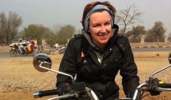 From India to Bali, Nancy loves exploring Asia on a Royal Enfield