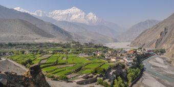 nepal green landscape