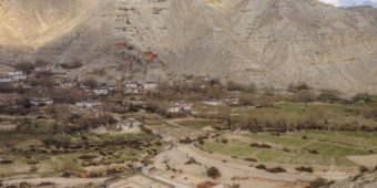 upper mustang landscape nepal