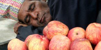 market seller nepal
