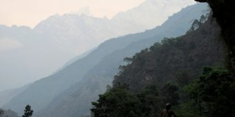 mountain views nepal